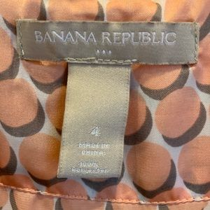 Banana Republic blouse, size 4